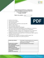 Biotecnologia Matriz - Tarea 2