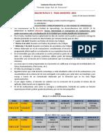HOJA DE RUTA N°2 (15 de marzo)