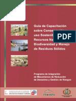 guía Conservación y uso sostenible de recursos naturales biodiversidad y manejo de residuos solidos