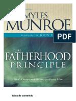 Fatherhood Principle, The_ God' - Myles Munroe1-Spanish