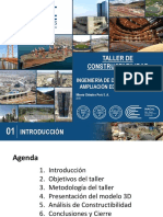 Informe Taller Constructabilidad