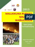 Guía en Quechua para Incendios Forestales 2013