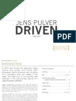 JENS PULVER | DRIVEN -- Press Kit