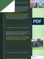 Legislacion Ambiental - SECTOR PESQUERO
