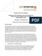 Just Detention UPR Report