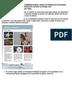 Creación de un folleto en CorelDRAW Graphics Suite X4 mediante la herramienta Tabla y la función de Pre visualización de texto en tiempo real
