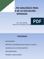 C_PID ANALÓGICO motor cd exc separada