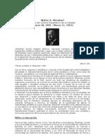 Walter A. CALIDAD 1 PRECURSOR