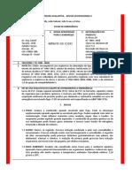 ATIVIDADE AVALIATIVA - Riscos Ocupacionais II