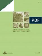 Guide de Gestion Des Risques Agricoles