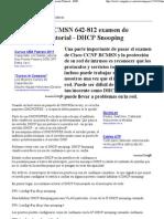 (Cisco CCNP BCMSN 642-812 examen de certifi