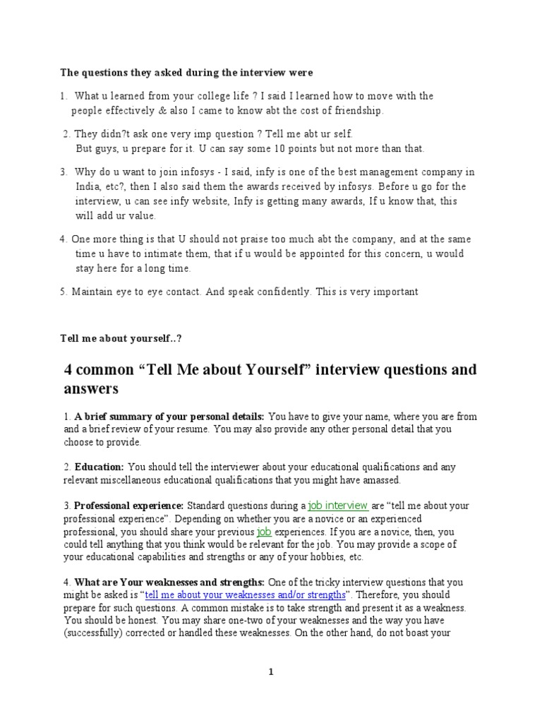 interview questions job interview psychology cognitive science