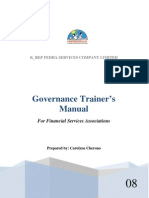 Governance Trainers Manual Eng