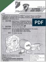 nerf disc shot instructions