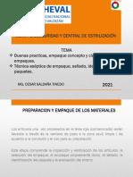 BUENAS PRACTICAS DE EMPAQUE Y TECNICAS DE EMPAQUE.