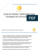ESTRATEGIA DE COMERCIALIZACION 2020 1