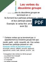 les verbes du 2 groupe