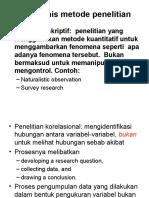 Kuliah 3 metode penelitian