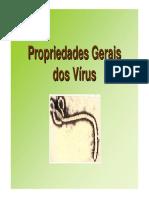 Propriedades Gerais dos Vírus 2016