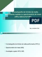 2-Prezentare metoda HPLC-MS