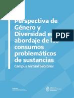 Perspectiva de Género y Diversidad en El Abordaje de Los Consumos Problemáticos de Sustancias