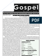 GOSPEL 3 APRIL