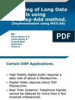 DSP Overlap Add Method