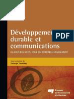 Developpement Durable Et Communication