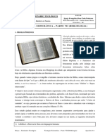 11. Bibliologia - Parte VII