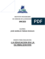 la educacioon en la globalizacion