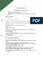 Documentos Ordinario de La Misa