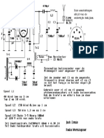 Schaltplan für einen kleinen AM - Röhrensender (historisch)
