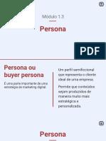 1.3 Persona
