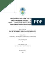 cateterismo venoso periférico