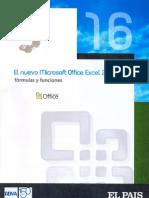 Office Excel 2007; Funciones y Fórmulas