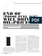 End of Fossil-Fuel Age driving up Oil Prices