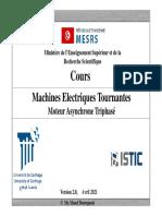 Machines électriques Tournantes_Moteur Asynchrone Triphasé