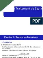 Traitement de Signal_Rappel_Math