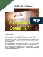 EL CONTINUO EN DANIEL 12.11-6