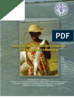 Rapport national sur l'insécurité alimentaire et la vulnérabilité à Madagascar (MAEP - FAO/2004)