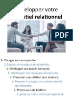 Développer votre potentiel relationnel (2)