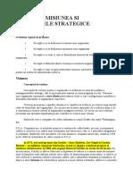 Viziunea, misiunea si obiectivele strategice