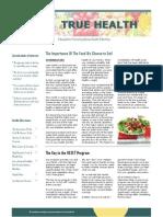 Optimal Health Newsletter 002