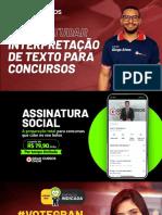 Como estudar interpretação textual para concursos - Diogo Alves
