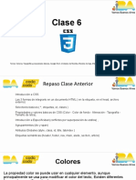 Clase 06 - CSS