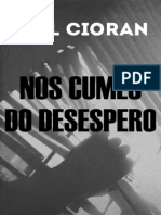 Emil Cioran Nos Cumes Do Desespero 2013 Libgen.lc