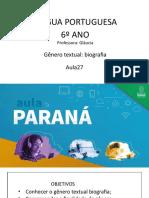 Língua _ Portuguesa_6 Ano_ Slide Aula 27
