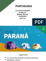 Língua _ Portuguesa_6 Ano_ Slide_ Aula110