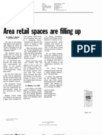 Asbury Park Press - Area Retail Spaces Filling Up