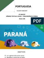Língua _ Portuguesa_6 Ano_ Slide_ Aula140